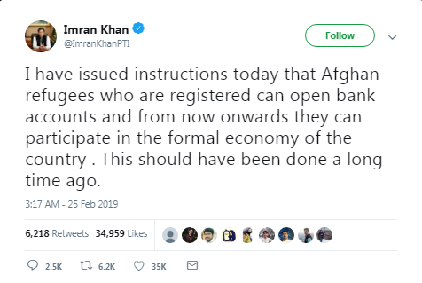 Afghan refugees allowed to open bank accounts